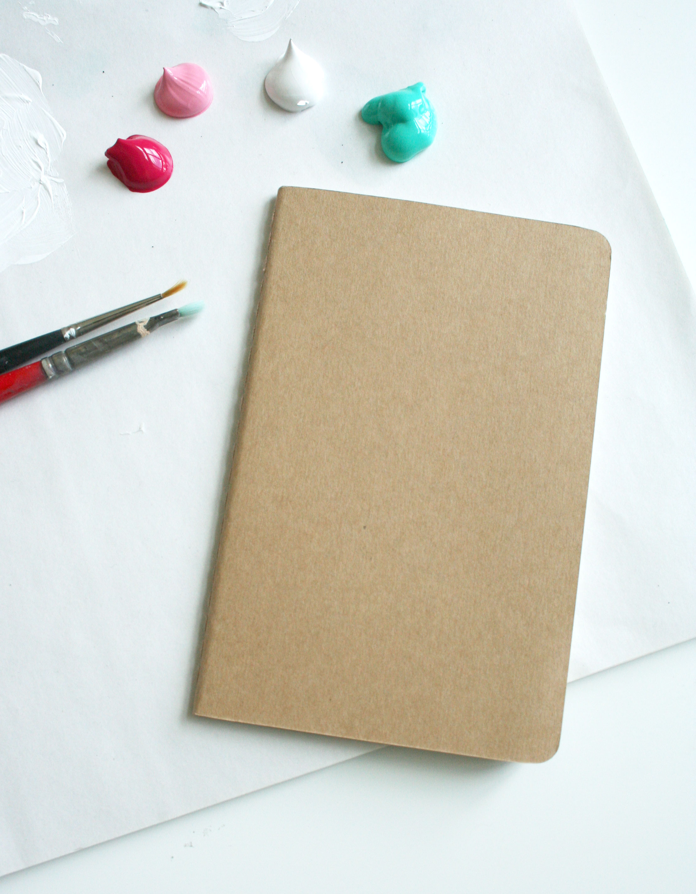 Blank Flower Journal by Fin and Feather Art