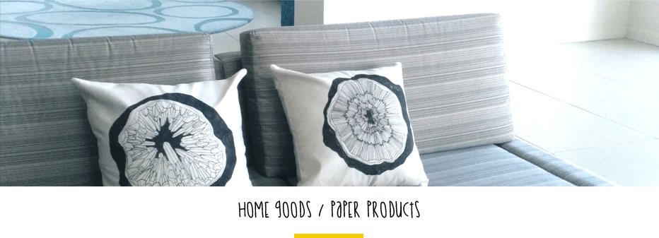 home goods paper products by fin and feather art