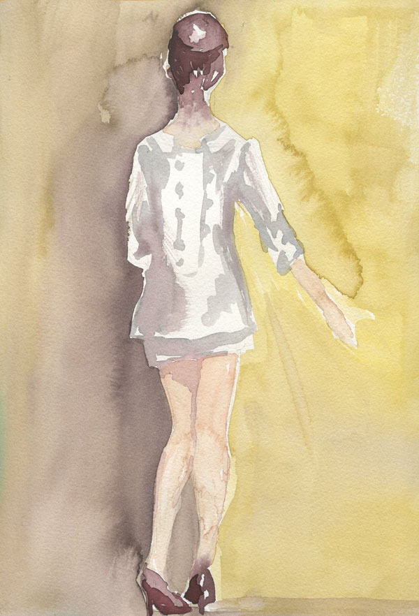 fashion illustration by fin and feather art